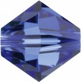 6mm SWAROVSKI® ELEMENTS Sapphire Xilion Beads - 25 crystals for jewellery making, beadwork and craft